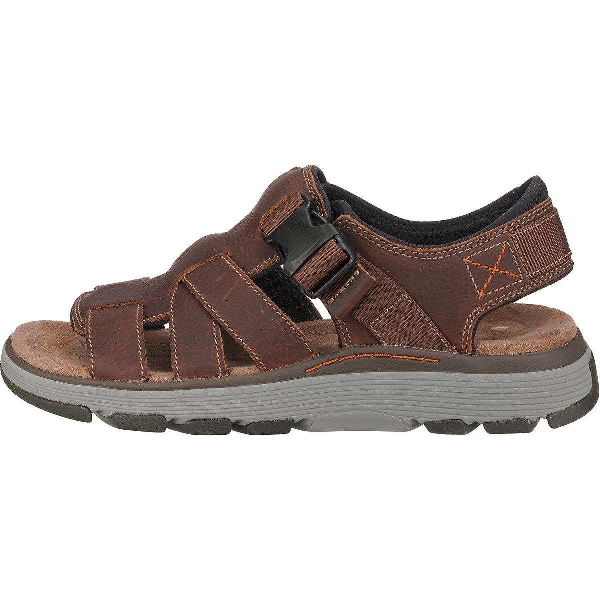 Clarks, Un Trek Cove Klassische Sandalen, Braun