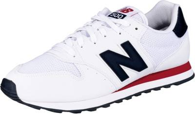 new balance, GM500 Sneakers Low, weiß | mirapodo