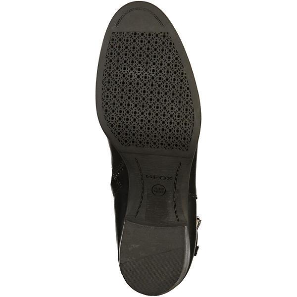 GEOX, Stiefelette Klassische Stiefeletten, schwarz  Gute Qualität Qualität Qualität beliebte Schuhe ed16b0