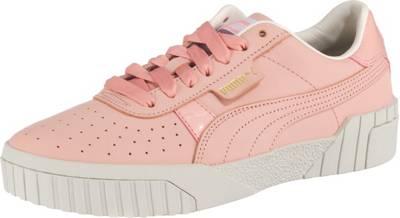 PUMA, Cali Nubuck Wn's Sneakers Low, rosa