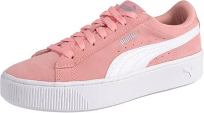 PUMA, Vikky Stacked SD Sneakers Low, koralle