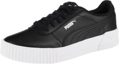 PUMA, Carina L Sneakers Low, schwarz | mirapodo