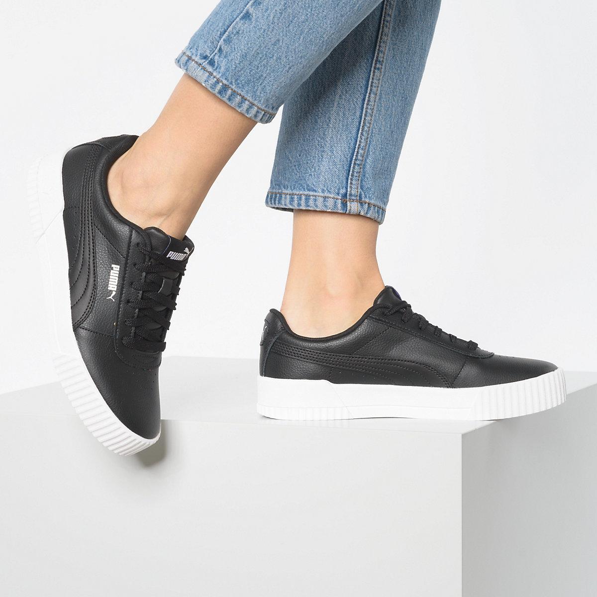 Puma, Carina L Sneakers Low, Schwarz