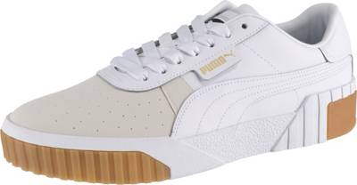 PUMA, Cali Exotic Wn's Sneakers Low, weiß | mirapodo