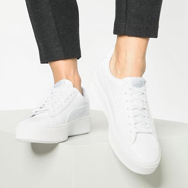 , Vikky Stacked L Turnschuhe Low, weiß  Gute Qualität beliebte Schuhe