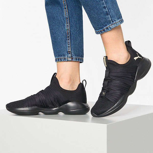 , Flourish Wn's Fitnessschuhe, schwarz  Gute Qualität beliebte Schuhe