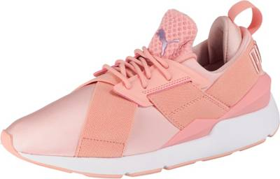 PUMA, Muse Satin EP Wn's Sneakers Low, koralle