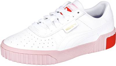 PUMA, Cali Sneakers Low, weiß Modell 3