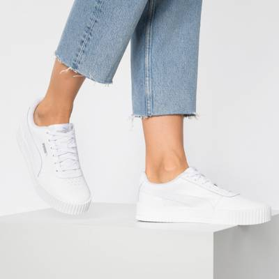 PUMA, Cali Sneakers Low, weiß