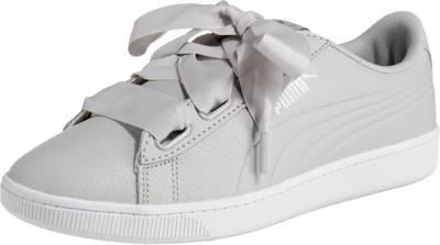 PUMA, Vikky v2 Ribbon Core Sneakers Low, hellgrau