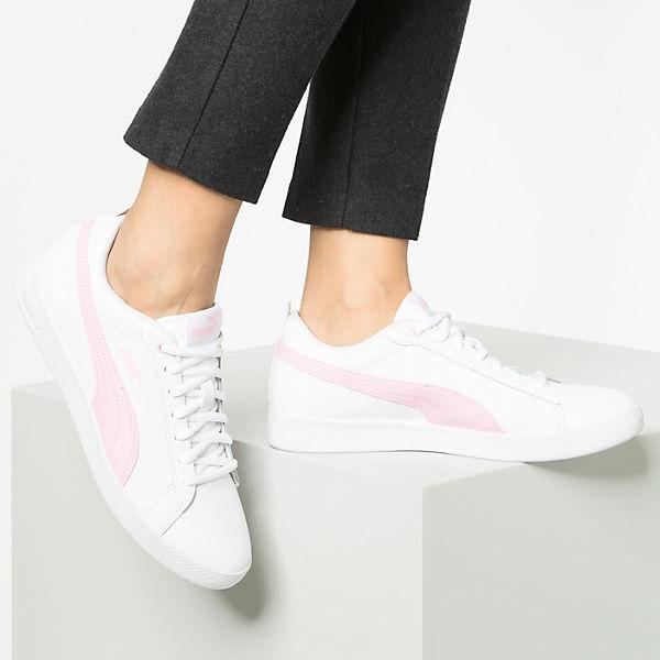 Weiß Wns kombi Sneakers L Low V2 Smash Puma gTBxYPg