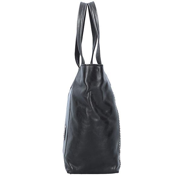 Leder Campomaggi Shopper 27 Schwarz Cm Tasche AL34j5R