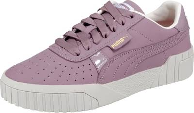 PUMA, Cali Nubuck Wn's Sneakers Low, lila