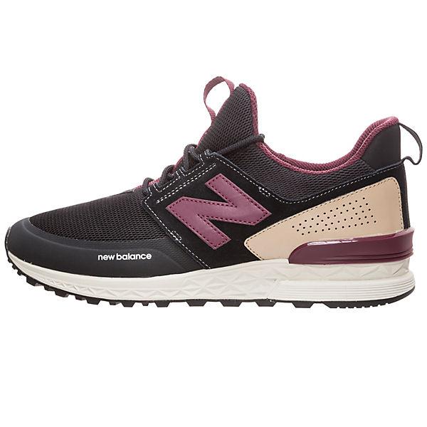 Schwarz dty Herren New Balance Ms574 Sneaker d 8PknwXN0O