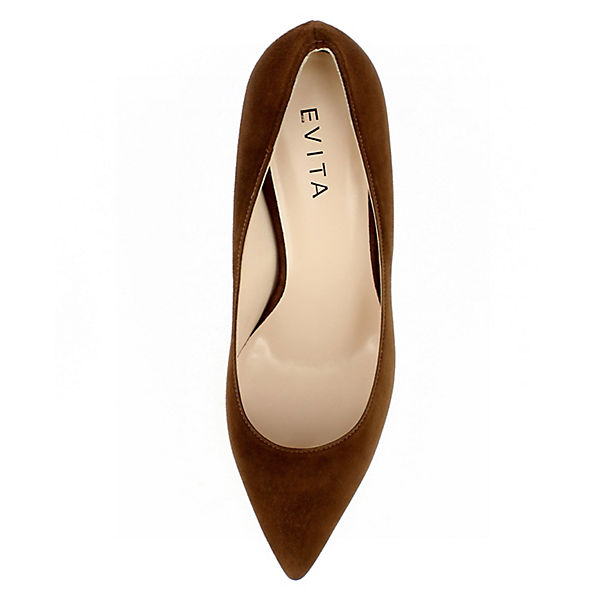 Evita Schuhes, Damen Pumps GIULIA Klassische Klassische GIULIA Pumps, cognac  Gute Qualität beliebte Schuhe 758658