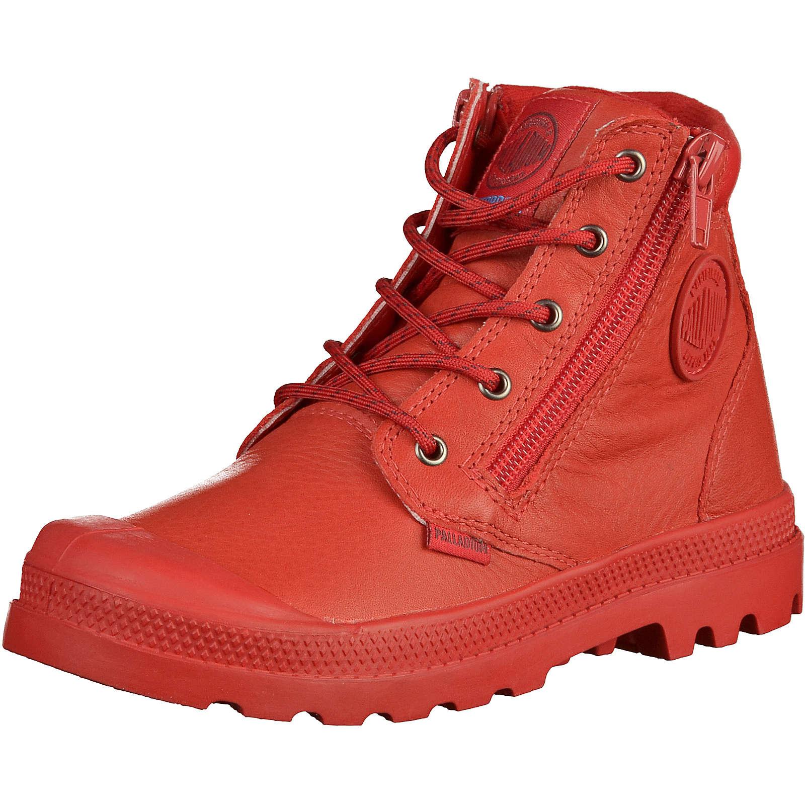 Palladium Kinder Stiefel rot Gr. 31