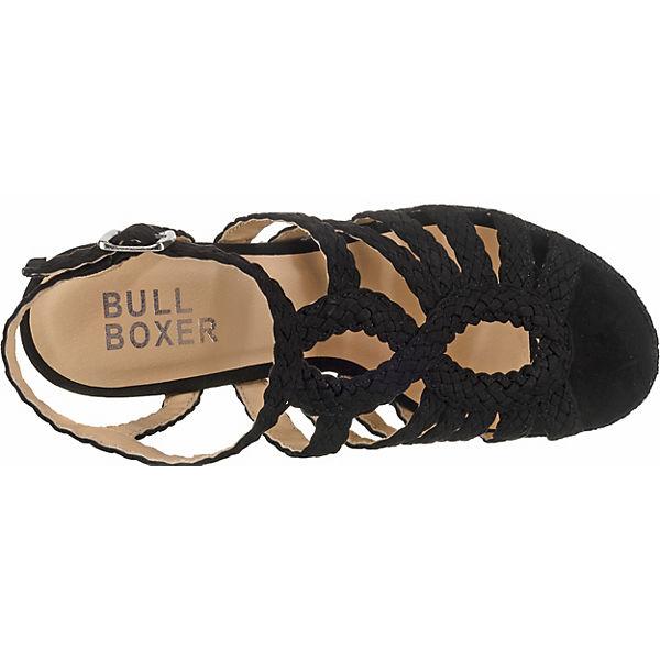 Bullboxer Keilsandaletten Bullboxer Schwarz Keilsandaletten Schwarz Bullboxer tqFwgTI8