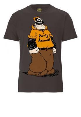 Logoshirt®, Logoshirt T Shirt NICE TO MEET YOU mit Retro