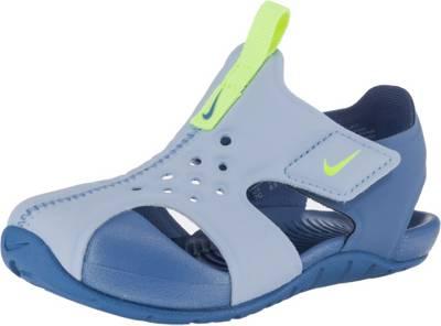 Nike Sportswear, Baby Badeschuhe SUNRAY PROTECT 2 (TD) für Jungen, blau
