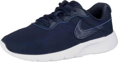 NIKE, Sneakers Low TANJUN (GS) für Jungen, dunkelblau