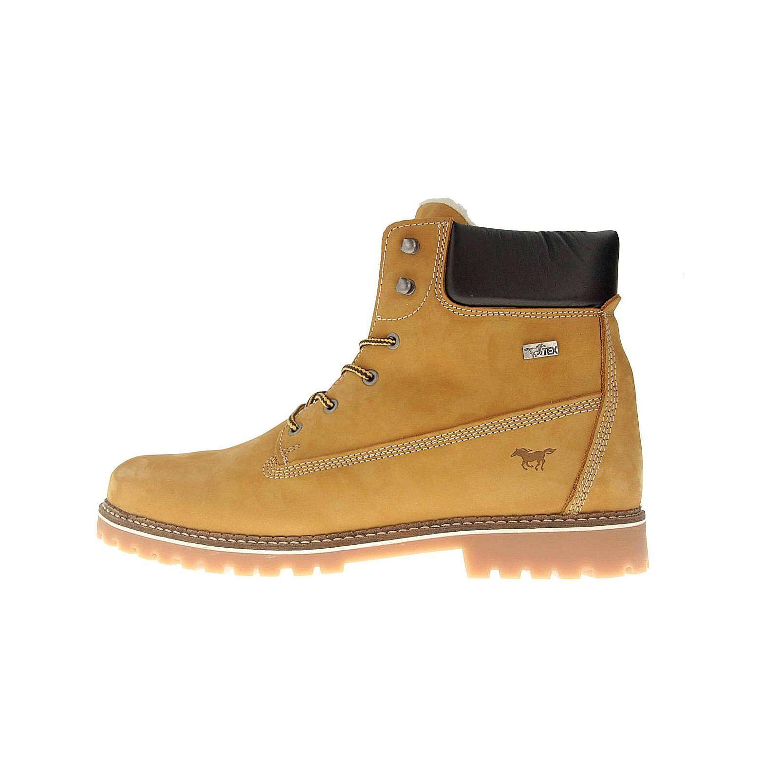 MUSTANG Boots braun Herren Gr. 50