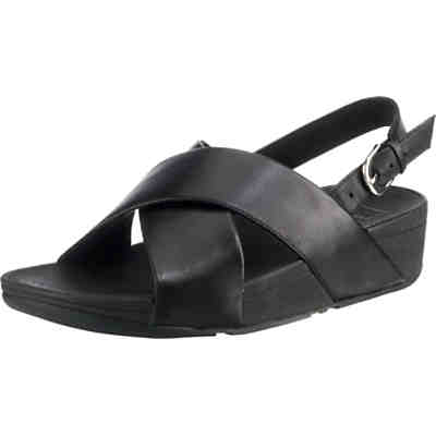 LULU CROSS BACK-STRAP SANDALS - LEATHER Komfort-Sandalen
