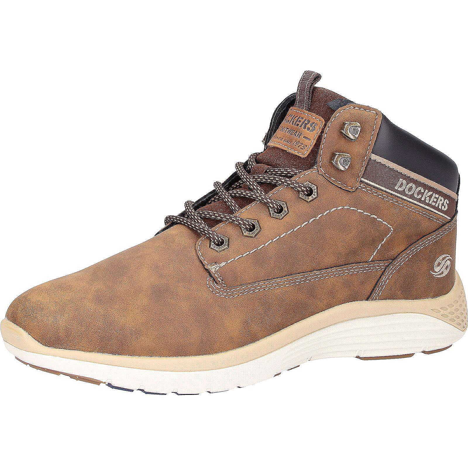 39cdaab6f5ba2f Dockers by Gerli Sneaker Sneakers High dunkelbraun Herren Gr. 42