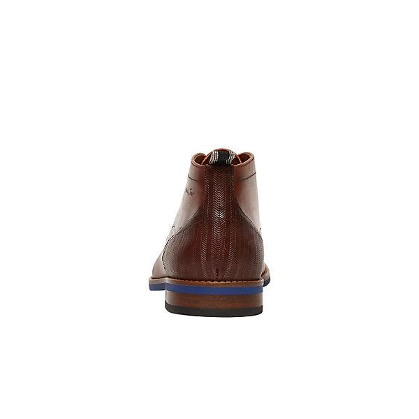 Van Dressed Schnürschuhe Schuhe Sabinus Casual Lier Cognac OnwP08kX