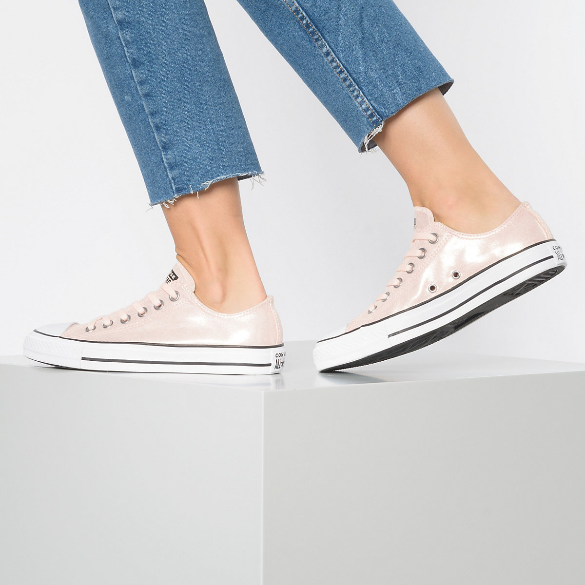 Converse, Chuck Taylor All Star Ox Sneakers Low, Koralle