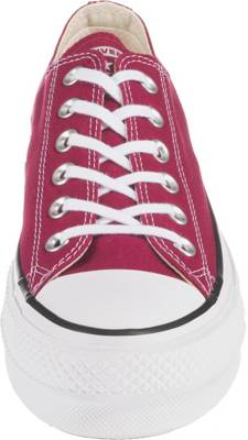 CONVERSE, Chuck Taylor All Star Lift Ox Sneakers Low, rot