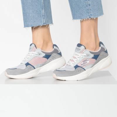 SKECHERS, MERIDIAN CHARTED Sneakers Low, weiß kombi