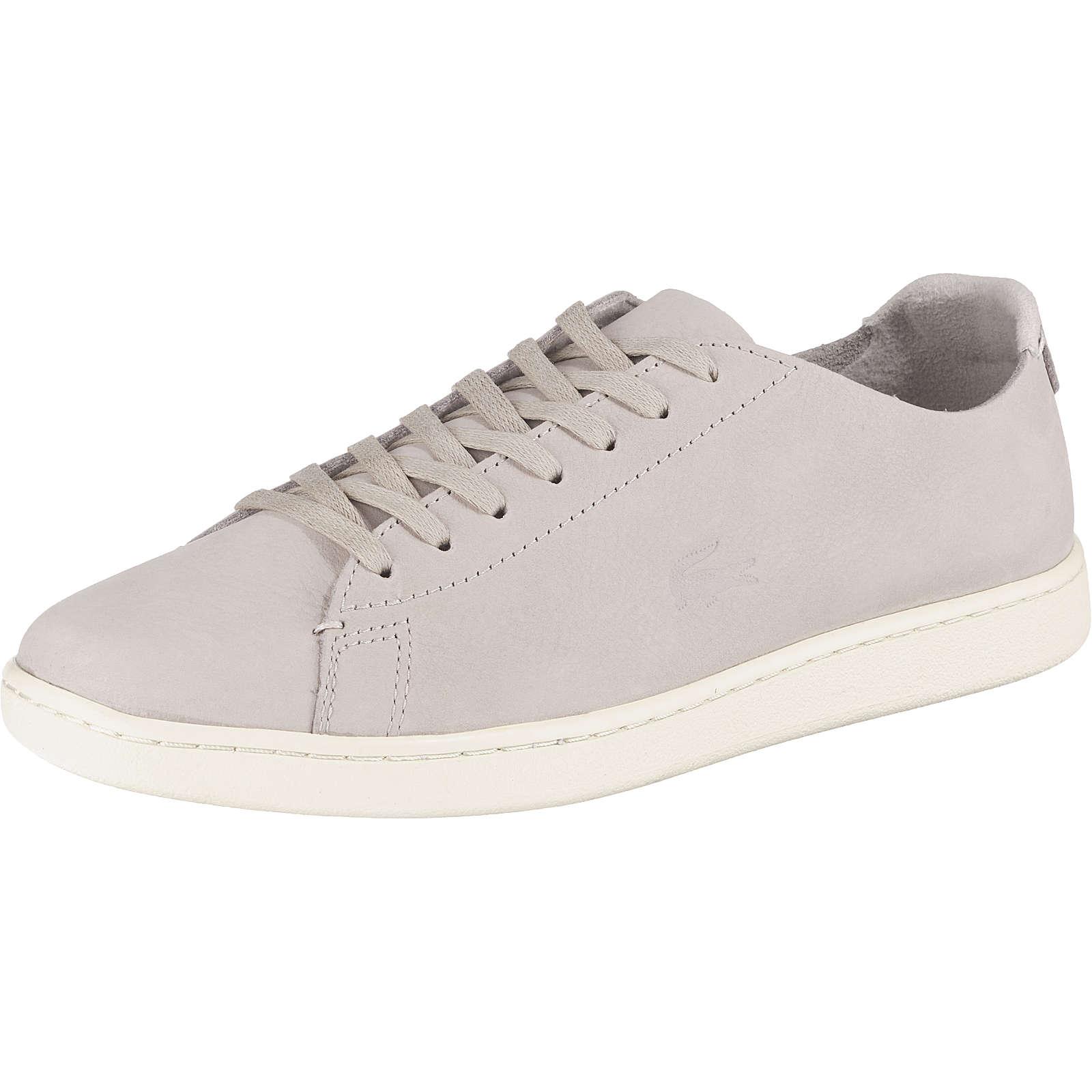 LACOSTE Carnaby Evo Sneakers Low hellgrau Damen Gr. 37,5