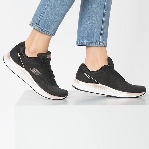 SKECHERS, SKYLINE Turnschuhe Low, schwarz-kombi  Gute Qualität beliebte Schuhe