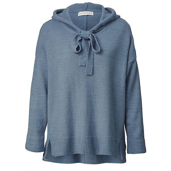 Joyce pullover Mit Hellblau Vokuhila Janetamp; Kapuze YfgyIb76vm