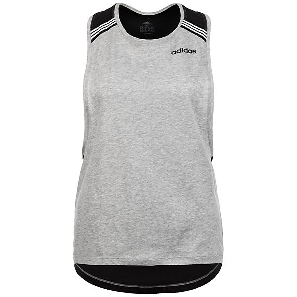 Performance Damen Grau High Adidas Neck Trainingstank Racerback lK1cTJF