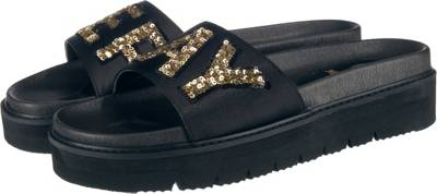 Damen Sioux Sneaker schwarz 37