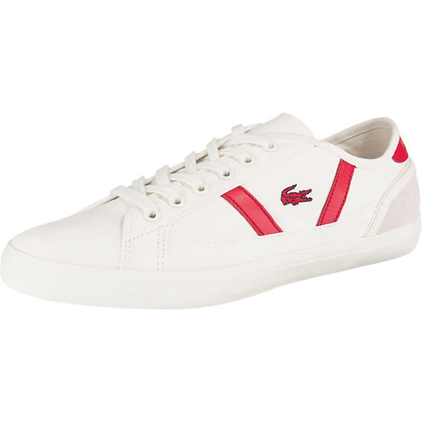 save off c1e72 bf55e LACOSTE, Sideline Sneakers Low, weiß
