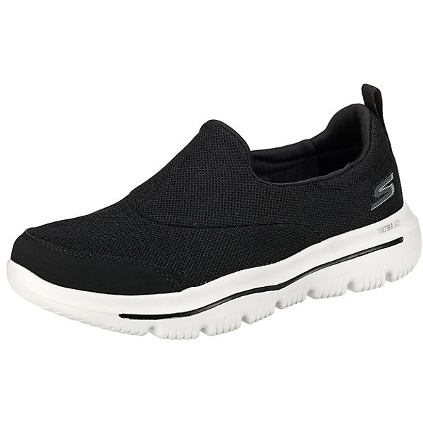 huge selection of 443f5 ee9fd SKECHERS, GO WALK EVOLUTION ULTRA RAPIDS Sportliche Slipper, schwarz