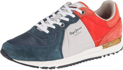 Pepe Jeans, TINKER PRO CAMP SUMMER Sneakers Low, dunkelblau