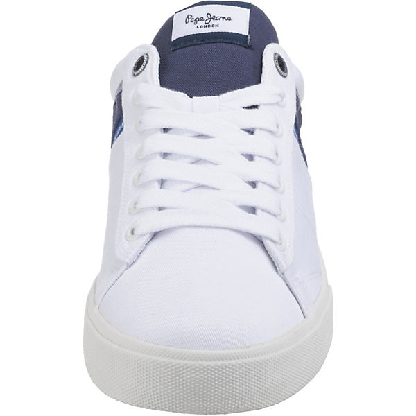Sneakers Pepe Jeans North Half Low Weiß ChdQtxBors