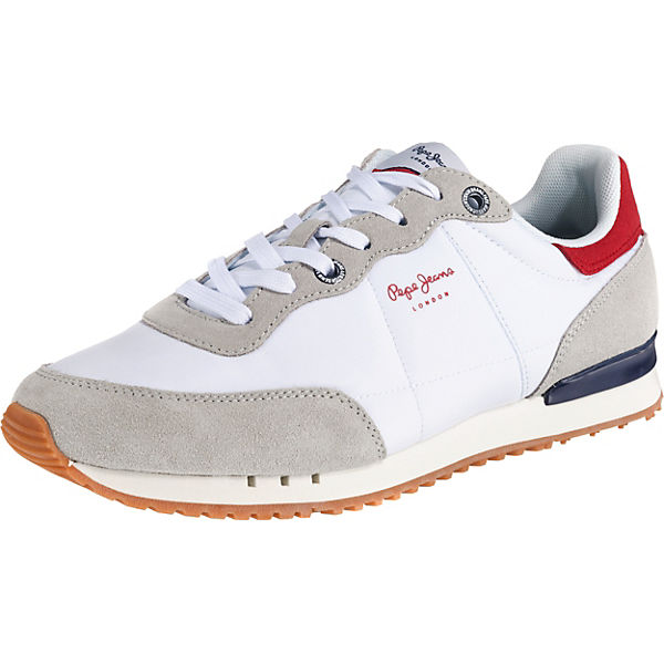 hot sale online 81fc2 6de59 Pepe Jeans, TINKER BASIC NYLON Sneakers Low, weiß