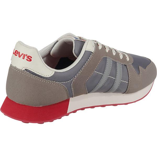 Grau Levi's® Low Sneakers Webb Levi's® Webb 0XZNw8OnPk