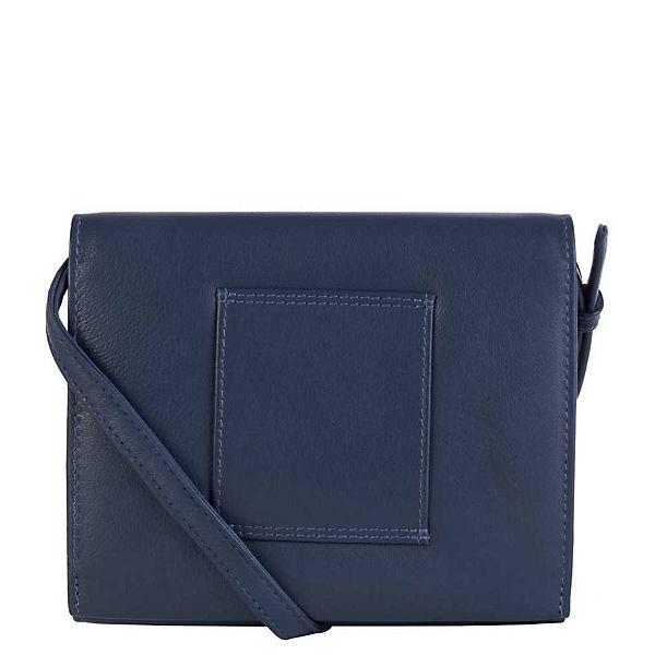 Vld Design Gürtelschlaufe Filippa Blau Tasche Mit Voi Leather kwOPX8n0