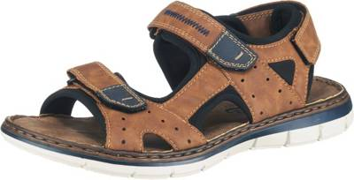 Rieker, Klassische Sandalen, Braun
