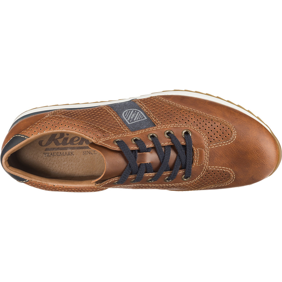 Rieker, Sneakers Low, Braun-kombi