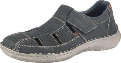 RIEKER Komfort Sandalen blau