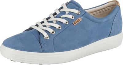 EccoEcco W LowBlau Soft Sneakers 7 8nmOv0Nw