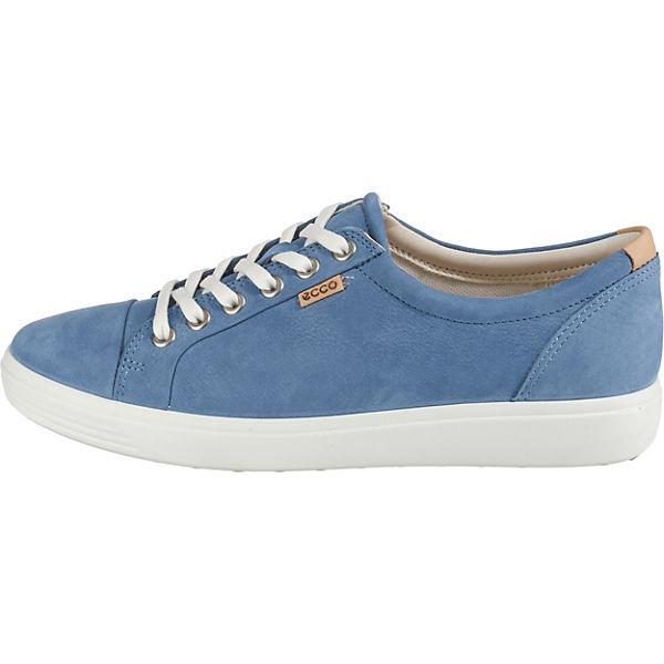 7 Blau Sneakers Low W Ecco Soft 8nq4F8v