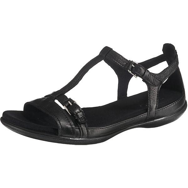 sports shoes c47e9 50a3c ecco, ECCO FLASH Komfort-Sandalen, schwarz