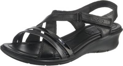 ecco, ECCO FELICIA SANDAL Klassische Sandaletten, schwarz